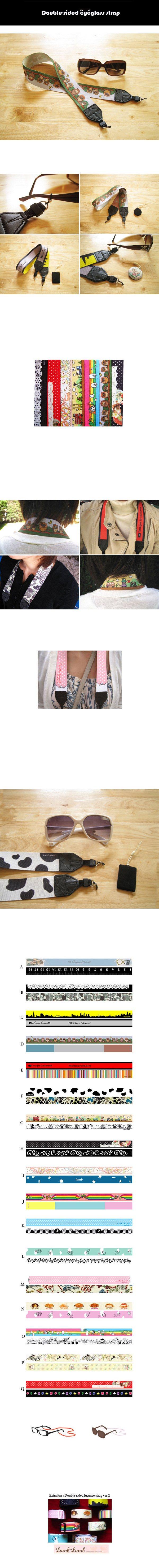 eyeglass sport strap  of eyeglass